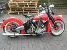 Classic and Race Bike :: Used 1946 Harley Davidson Knucklehead ...