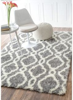› Moroccan rugs for bedroom. Nuloom x Slyvia Shaggy Rug in White. Visit the site to be able to take a look at more beautiful Moroccan shag rugs examples. Nuloom x Slyvia Shaggy Rug in White. White Shag Rug, Grey Rugs, White Area Rug, White Rugs, Living Room White, Rugs In Living Room, Shag Pile Rugs, Shaggy Rugs, Flokati Rugs