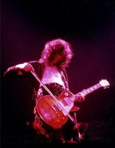 Jimmy Page with a Cello Bow