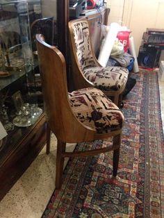 scaune 4 set Art Deco, Chair, Furniture, Home Decor, Decoration Home, Room Decor, Home Furnishings, Chairs, Arredamento