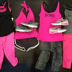 I NEED these in my closet! I am so ready to rock the new #PiYo workout and, of course, I want to look cute while getting my calorie burn on....