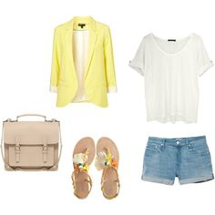 Designer Clothes, Shoes & Bags for Women Mellow Yellow, Shoe Bag, Polyvore, Stuff To Buy, Shopping, Collection, Shoes, Design, Women