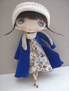 Collectible dolls handmade.  Fair Masters - handmade Natalie ..  )).  Handmade.