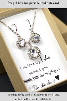 Wedding Gift Jewelry Suggestions : ... gifts gift wedding wedding jewelry wedding decor wedding ideas crystal