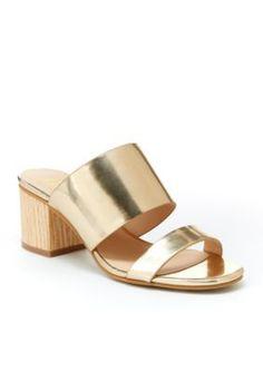 Nanette Nanette Lepore  Gold Remi Sandal