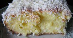 Um bolo como aqueles que só a vovó sabe fazer. Descubra nossa receita.