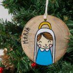Maria Christmas Ornaments, Holiday Decor, Home Decor, Decoration Home, Room Decor, Christmas Jewelry, Christmas Baubles, Christmas Decorations, Interior Decorating