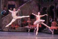 Natalia Osipova and Ivan Vasiliev in 'Don Quixote' - The New York Times