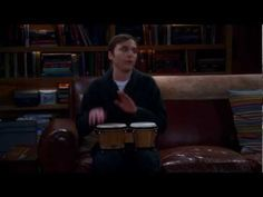 Sheldon Playing the Bongos - Funniest Big Bang Theory scene ever!