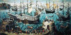 Henry VIII on board the Henry Grace a Dieu in 1520