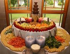 Great Snack Table Wedding