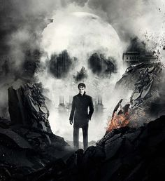 Promotional poster: James McAvoy in character as Macbeth in a poster for the 80-date theatre run