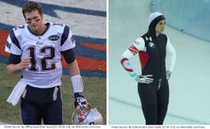 Tom Brady and Brittany Bowe Voted February Athletes of the Month 2015