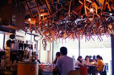 Coffee Lab Cafe in Hongdae, Seoul, South Korea
