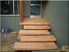 kerti lépcső