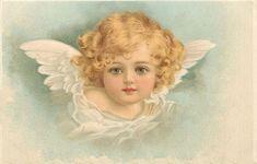 Мобильный LiveInternet Старинные открытки с ангелочками | Мари_Мэри - Дневник Мари_Мэри |
