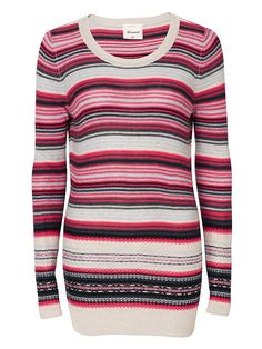 Shop for Women's, Men's and Maternity Clothing Online Striped Knit, Long A Line, New Look, Maternity, Men Sweater, Legs, Knitting, Sweaters, Shopping