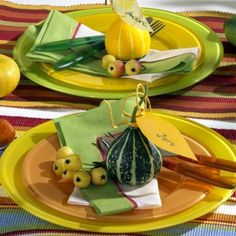 Thanksgiving Day Table decoration idea