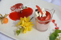 Dessert im Sporthotel Alpenblick in Zell am See Panna Cotta, Pudding, Ethnic Recipes, Desserts, Food, Dulce De Leche, Meal, Custard Pudding, Deserts
