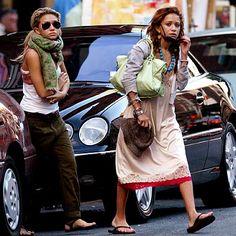 Olsen twins in perfect grunge boho.