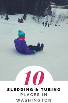 Looking for a place to play in the snow with your kids? Check out this list of 10 Top Areas for Sledding & Tubing in Washington for families. Snow Activities, Outdoor Activities, Travel With Kids, Family Travel, Road Trip Destinations, 10 Top, Snow Skiing, Family Adventure, Antique Christmas