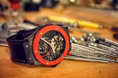 New Hublot Classic Fusion and the OnlyWatch special watch hands on!
