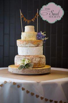 Cheese Wheel Wedding cake :)
