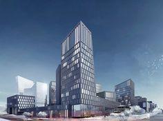 Architectural bureau A.Len - Project - Premium Class Residential District in Ufa City, Russia, Bashkortostan