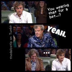 Lol! Richard and James' FACE!! haha