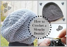 Hi guys! In this video I'll be showing you how to crochet a very easy and cute slouchy beanie. I've noticed that slouchy beanies are quite trendy around...
