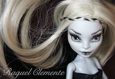 ♥ WITCH OF THE MOOR♥ OOAK custom repaint Monster High doll Cam wolf Mattel by Raquel Clemente | Flickr - Photo Sharing!