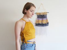 Reversible Crop Top by Annie Oakes Designs