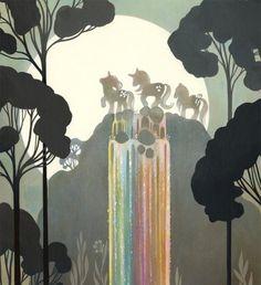 """Amy Sol \""""Rainbow Falls\"""""""
