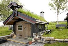 Sauna, shed... anything. Love the grass roof