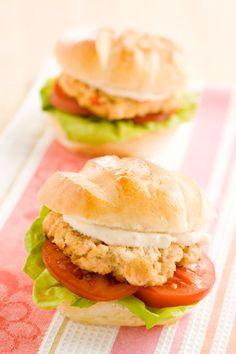 Paula Deen Salmon Burgers