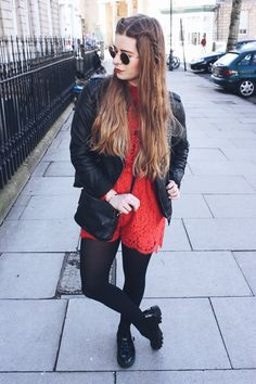 Outfit: Red Lace