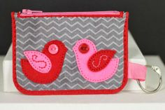 Birds Coin Purse by Erin Lincoln for Papertrey Ink (March 2014)