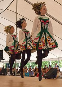 Irish Dancers- I really wanted to do step dancing as a kid but my mom wouldn't allow it. If i ever have a daughter I'm going to live my dream through her