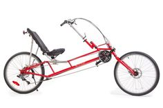World Traveler | Lightfoot Recumbent Cycles... LWB... Looks comfortable, but that steering linkage looks cumbersome