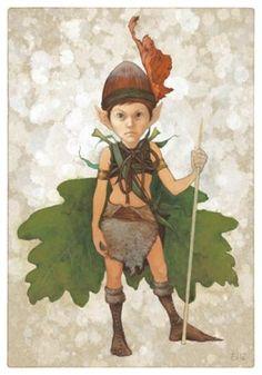 Fairy Hunter by Erlé Ferronnière