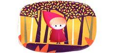 Little Red Ridding Hood - Children's Illustrations on Behance