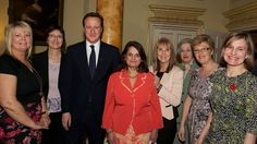 Tesco Mum of the Year Winners (including our own Jane Plumb) meet The Prime Minister David Cameron