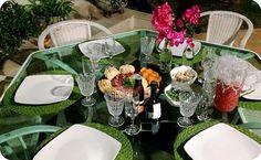 By Bianca Condé - Blog de Moda, Beleza, Viagens, Receitas, Decoração... : Montando a Mesa : Jantar de Verão