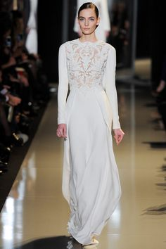 Elie Saab Spring Couture 2013 on Style.com Zuzanna Bijoch by Yannis Vlamos