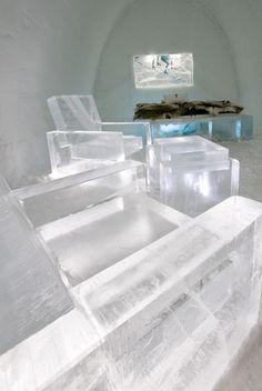 Famous hotels around the world-#128- Icehotel in Jukkasjärvi, Sweden-- Design Suite 327 - Skate. Artist/s: Mikael Nille Nilsson, Åke Larsson & Sofi Ruotsalainen. Photographer: Ben Nilsson/Big Ben Productions