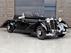 1940 Horch 853A Sportcabriolet in the style of Erdmann & Rossi | Paris 2014 | RM AUCTIONS