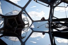 The Metropolitan Museum of Art - Installation Photos Tomás Saraceno's On the Roof of Cloud City