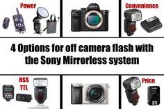 4 Options 4 Off Camera Flash Sony A6000, A7ii Phottix, Interfit, Pocket ...
