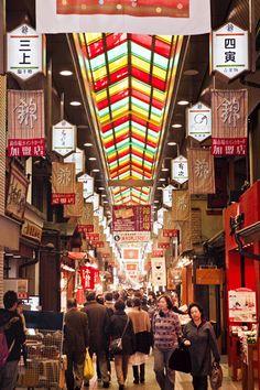 Nishiki Market. Photo: Scott Haas.