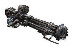 Unreal Tournament 3 Tarydium Stinger (minigun)